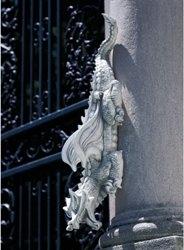 Gothic Dragon Garden Sculpture