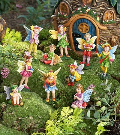 Create a Fairy Village in Your Garden and Experience Whimsy and Magic