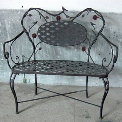 metal garden bench from 4d concepts