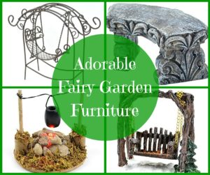 Adorable Fairy Garden Furniture