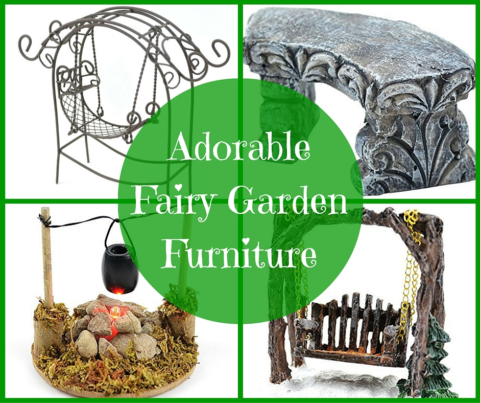 Adorable Touch of Nature Fairy Garden Furniture