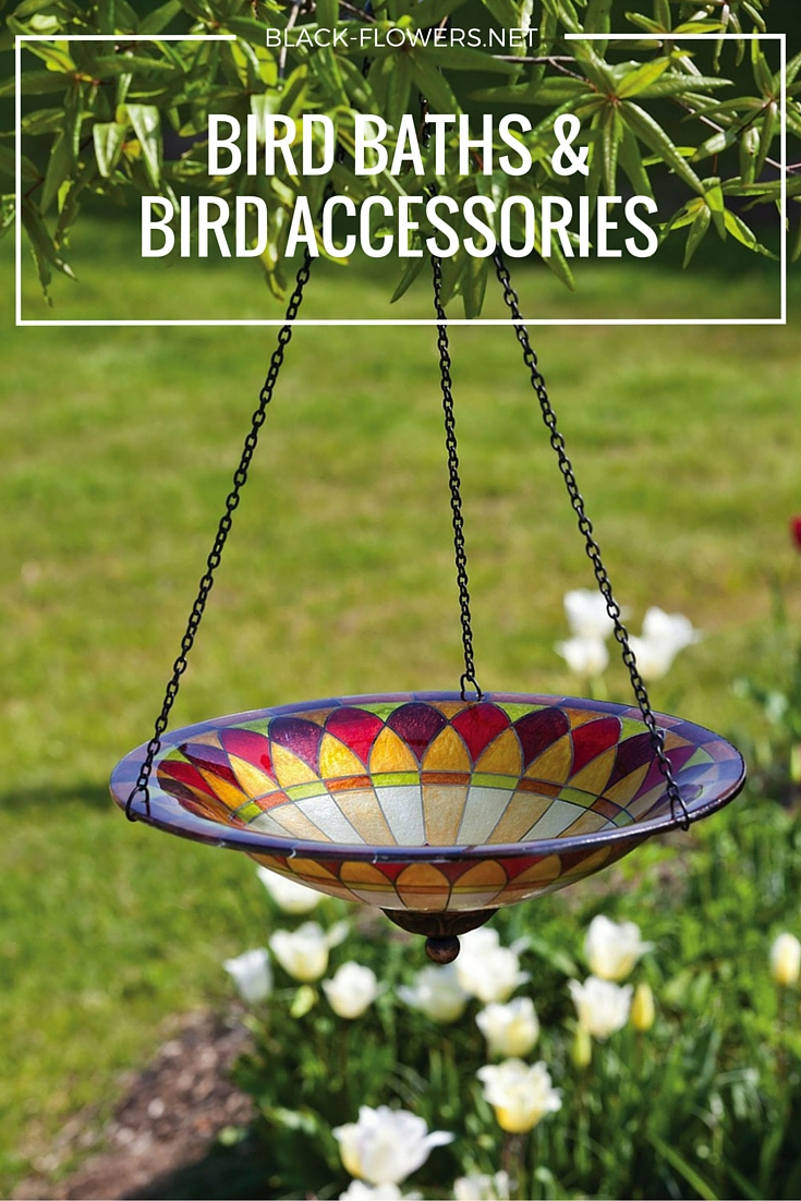 BIRD BATHS & BIRD ACCESSORIES