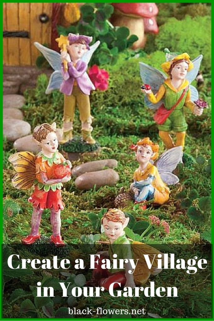 Create a Fairy Village in Your Garden
