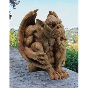 Funny Decorative Gothic Garden Statues