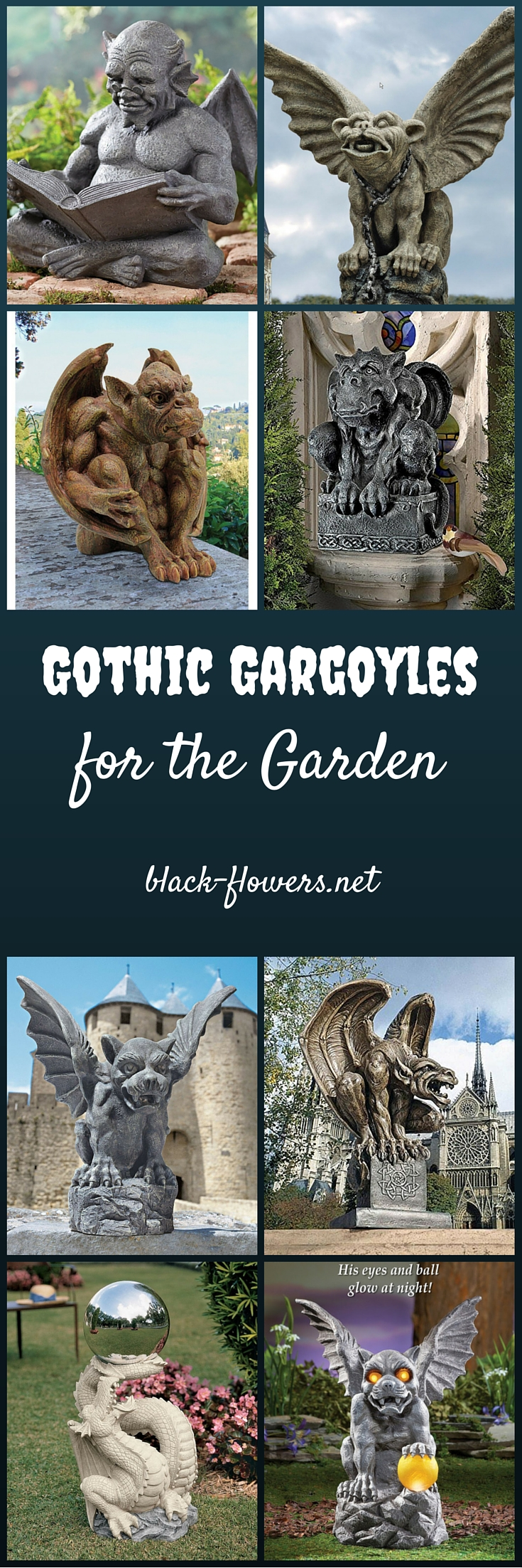 Gothic Gargoyles for the Garden