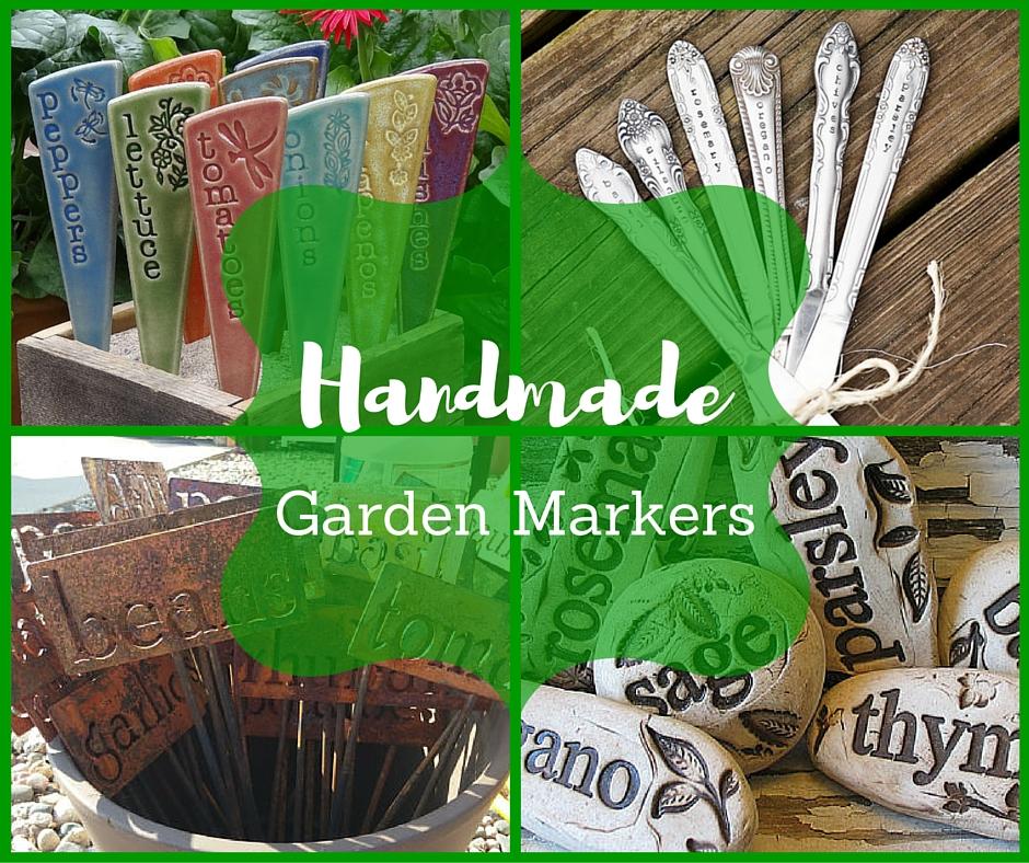 Handmade Garden Markers